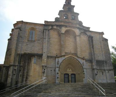 Iglesia de Gernika en el Camino del Norte