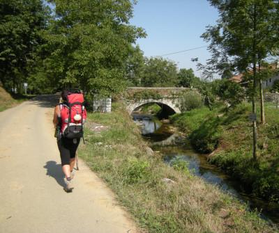 Camino del Norte entre Markina y Gernika