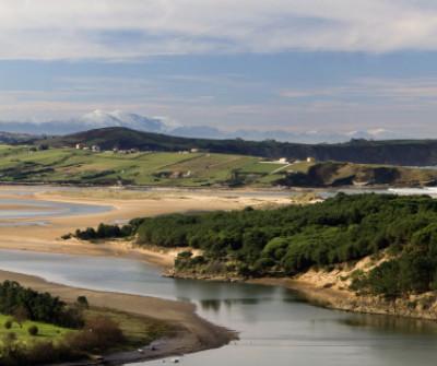 Camino del Norte entre Santander y Santillana