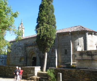Iglesia de Arzúa en el Camino de Santiago