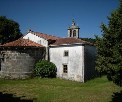 Iglesia de Sendelle, en el Camino de Santiago