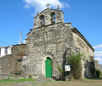 Iglesia de Baamonde, en el Camino del Norte