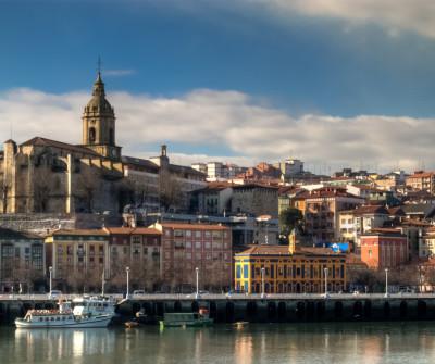 Camino del Norte a su paso por Portugaleta