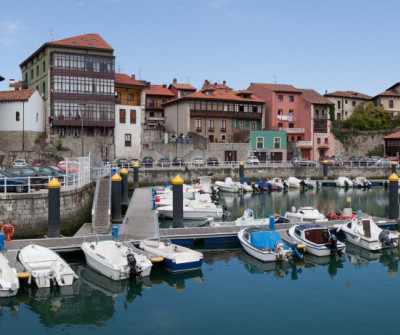 Llanes, pueblo asturiano del Camino del Norte
