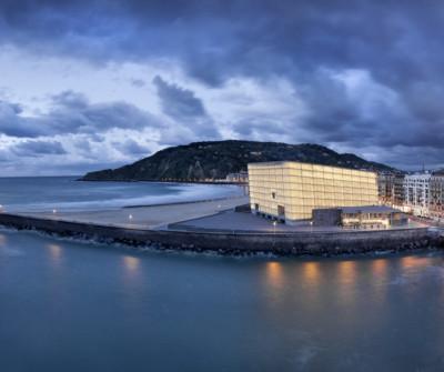 Bahía de San Sebastián con el Kursaal