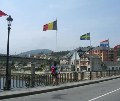 Puente de Navia, en el Camino del Norte
