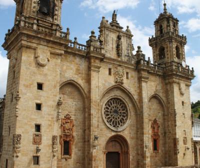 Catedral de Mondoñedo, Camino del Norte