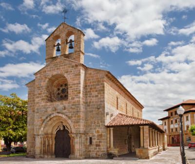 Capilla de Villaviciosa, Camino del Norte