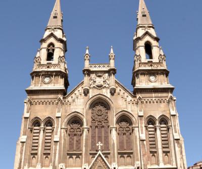 Iglesia de Sabugo, en el Camino del Norte
