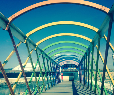 Puente de San Sebastián en Avilés