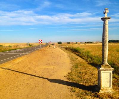 Camino Francés entre Boadilla del Camino y Carrión de los Condes
