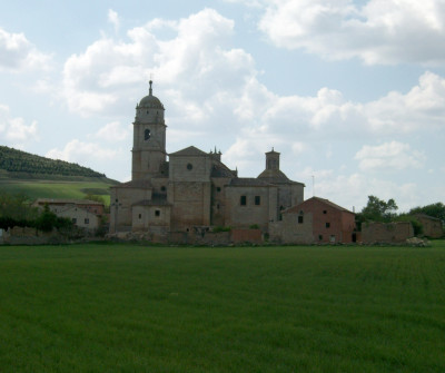 Hontanas, pueblo del Camino Francés