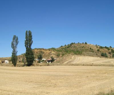 Calzadilla de la Cueza, en el Camino Francés