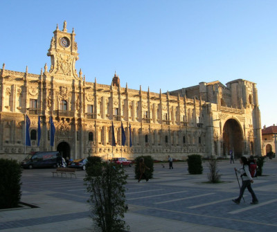 Parador de San Marcos de León, antiguo hospital de peregrinos