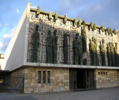 Santuario de la Virgen del Camino, en el Camino Francés