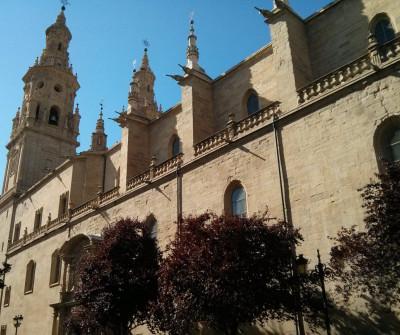 Catedral de Logroño, en el Camino Francés