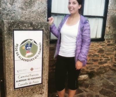Albergue en Arzúa, en el Camino Francés