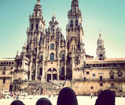 Catedral de Santiago de Compotela, fin del Camino de Santiago