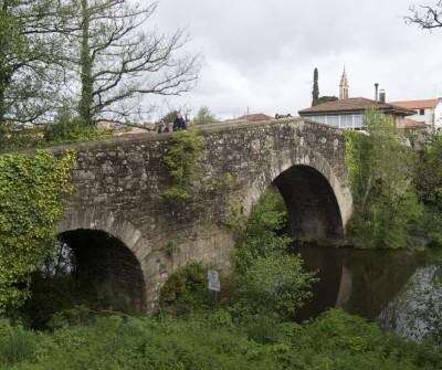 Puente de Palas de Rei, en el Camino de Santiago