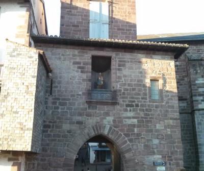 Puerta de Notre Dame en Saint Jean Pied de Port
