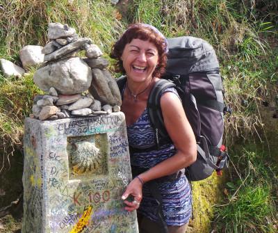 Hito del Camino de Santiago Francés