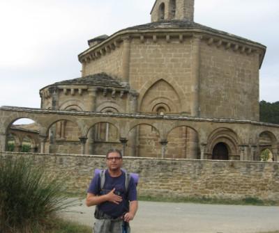 Santa María de Eunate, Camino Francés