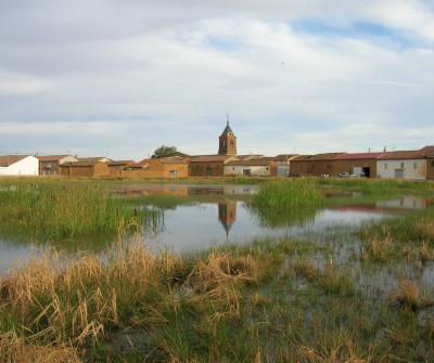Laguna Manzana en el Burgo Ranero, Camino Francés