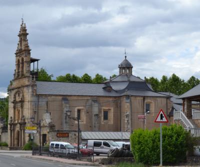 Iglesia de Villafranca del Bierzo, Camino Francés