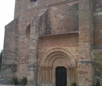 Ejemplo de románico en Pamplona