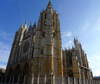 Pulcha leonina, catedral de León