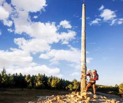 Cruz de Fierro, punto más alto del Camino Francés