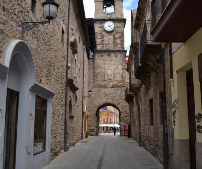 Torre del Reloj de Ponferrada, ciudad del Camino Francés
