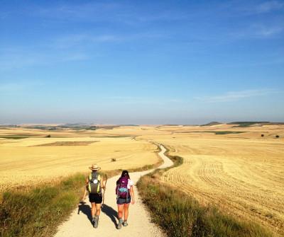 Etapa entre Hontanas y Boadilla del Camino, en el Camino Francés