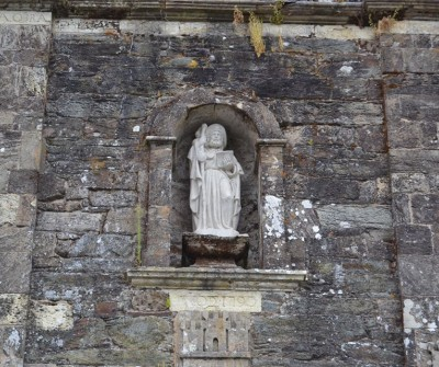 Apóstol Santiago en la iglesia de Triacastela