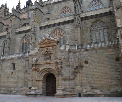 Detalle de la Catedral de Astorga