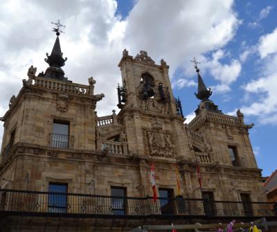 Ayuntamiento de Astorga, en el Camino de Santiago Francés