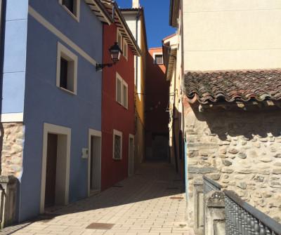 Calles de Belorado, pueblo burgalés del Camino Francés