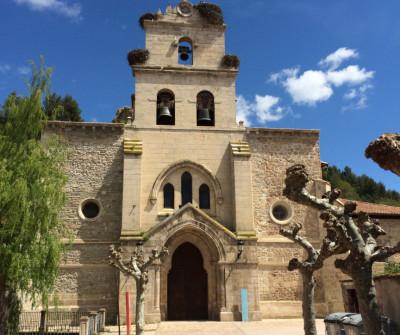 Iglesia de Santa María de Belorado, en el Camino Francés