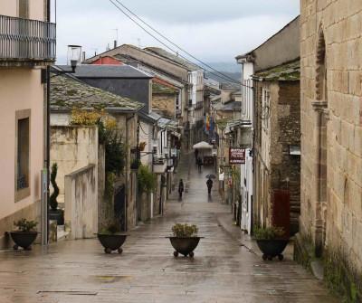 Calle Mayor de Sarria, Camino Francés