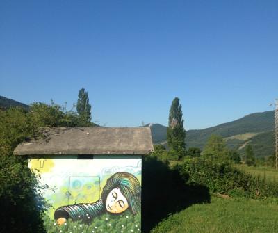 Camino Francés entre Zubiri y Pamplona