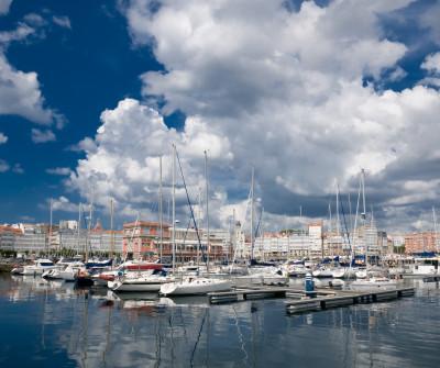 Puerto de Coruna, Camino Inglés