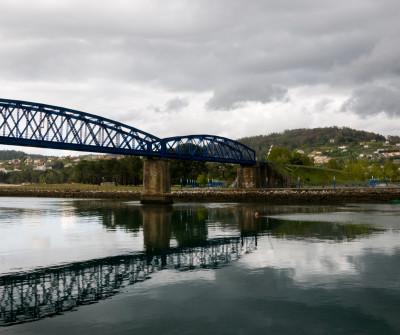 Puente de Pontedeume, punto de paso del Camino Inglés