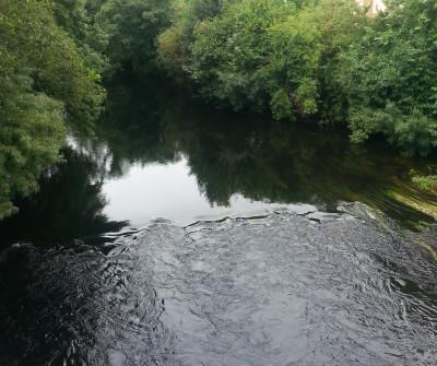 Camino Inglés paralelo al Río Sigüeiro