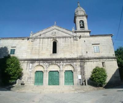 Iglesia en Betanzos, Camino Inglés