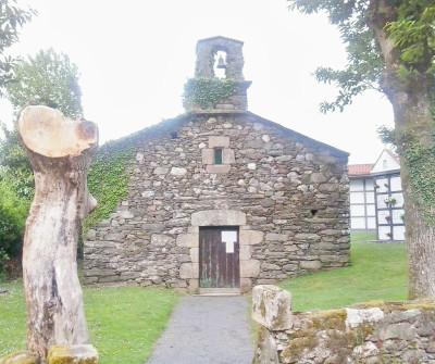 San Lourenzo de Bruma, Camino Inglés