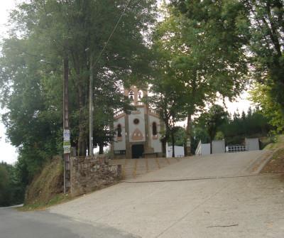 Iglesia en el Camino Inglés