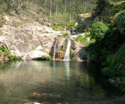 Pouzas de Mougas, punto de paso del Camino Portugués por la Costa