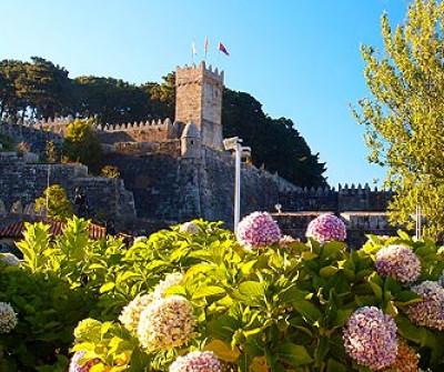 Fortaleza de Monterreal en Baiona, Camino Portugués por la Costa