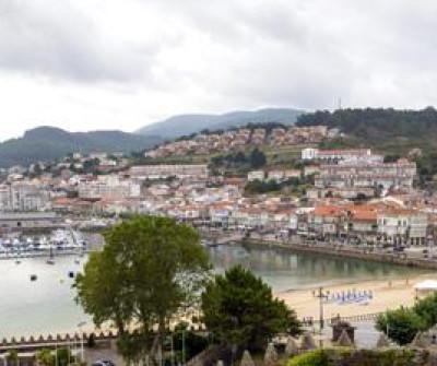 Vistas de Baiona, Camino Portugués por la Costa
