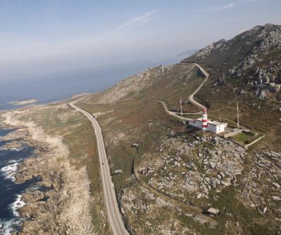 Vistas del Cabo Silleiro, Camino Portugués por la Costa